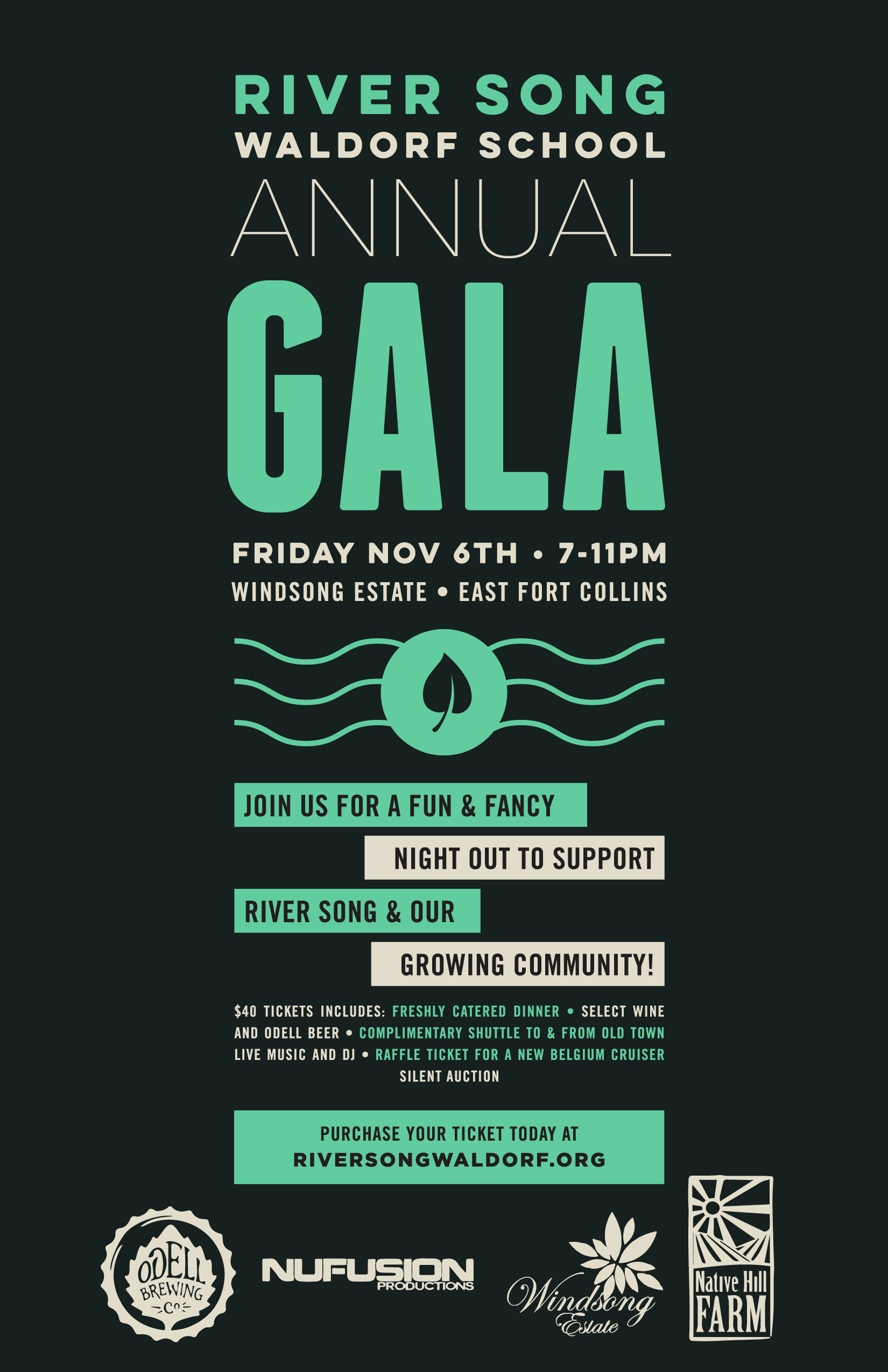 River Song Fundraising Gala