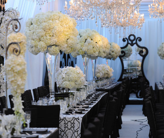 5 unique wedding theme ideas classy black tie theme
