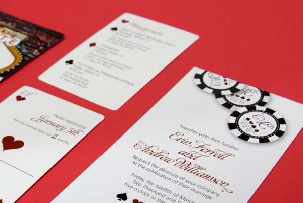 5 unique wedding theme ideas casino night