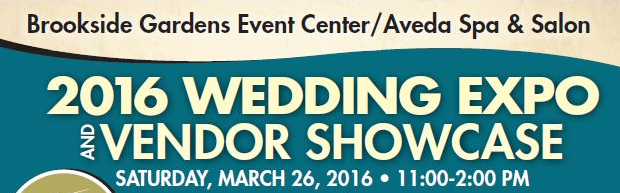 brookside gardens event center wedding expo